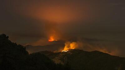 Declaran estado de emergencia en Santa Bárbara por los incendios forestales y de maleza