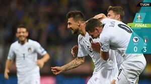 Italia intratable golea a Bosnia y no sabe de derrotas