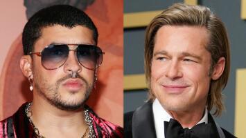 Siguen los éxitos para Bad Bunny: el cantante actuará en película con Brad Pitt