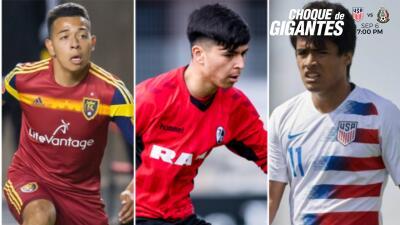 Jugadores que deben elegir jugar entre México y Estados Unidos