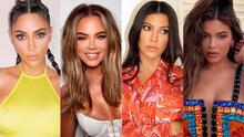 El cambio es constante: así ha sido la dramática transformación del clan Kardashian-Jenner