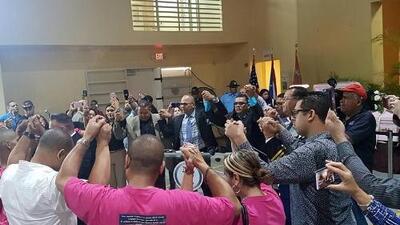 Cientos de personas despidieron a la familia Pérez Rivera en Dorado