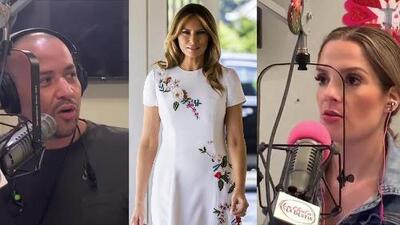 Melania Trump gastó 4 mil dólares en un vestido y a Pancho le parece algo exagerado