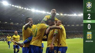 Decime qué se siente: Brasil apaga fantasma del Mineirazo y va a la Final de Copa América