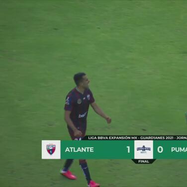 Resumen | Atlante sufrió para superar 1-0 a Pumas Tabasco