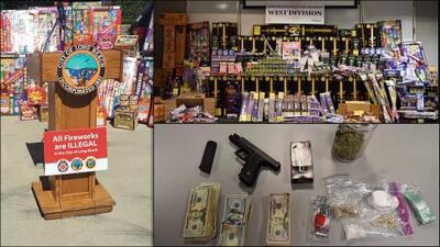 Vinculan el mercado ilegal de fuegos artificiales a pandillas tras el decomiso de dos toneladas de 'fireworks'