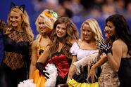 INDIANAPOLIS, IN - OCTOBER 30: Indianapolis Colts cheerleaders pose for a picture during the game between the Indianapolis Colts and Kansas City Chiefs at Lucas Oil Stadium on October 30, 2016 in Indianapolis, Indiana. (Photo by Joe Robbins/Getty Images)