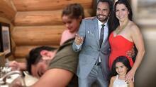 Aitana Derbez inaugura 'salón de belleza' y somete a José Eduardo a un cambio de look 'extremo'