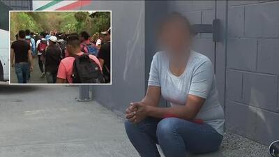 Perdió su embarazo y fue deportada: el dramático testimonio de una hondureña tras seguir a la caravana migrante