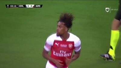 ¡GOOOL! Alex Iwobi anota para Arsenal