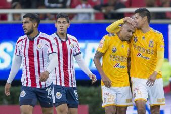 En fotos: la gris despedida de Chivas del Apertura 2018 ante Tigres