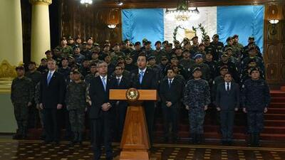 """Carta de los excancilleres de Guatemala: """"Desafortunada y preocupante decisión sobre el futuro de la Cicig"""""""