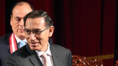 Martín Vizcarra jura como presidente de Perú tras la renuncia de Kuczynski