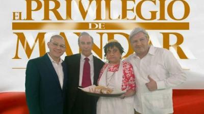 Lalo España en El Privilegio de Mandar