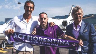 Franck Ribéry continuará su carrera en la Serie A