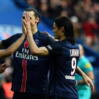 PSG se descarga contra el Caen mientras Saint Etienne y Lille luchan por Europa