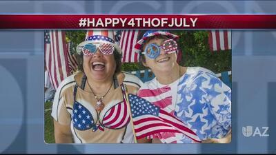 Los hashtags del día: Feliz 4 de julio