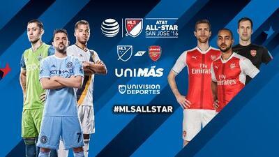 ¿Qué podemos esperar del Partido entre las Estrellas de la MLS y el Arsenal de Inglaterra?