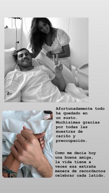 Las malas noticias para Sara Carbonero no paran. El pasado primero de mayo vivió un susto cuando su esposo, el arquero Iker Casillas, sufrió un paro cardíaco durante sus entrenamientos. <br>