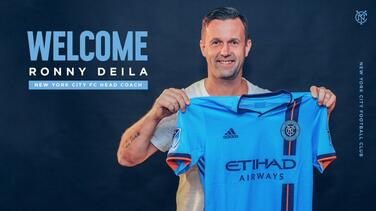 New York City FC contrata a Ronny Deila como su nuevo director técnico