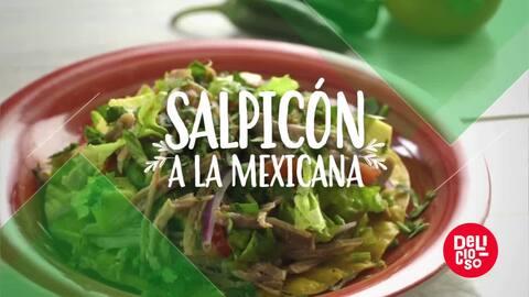 Salpicón a la mexicana