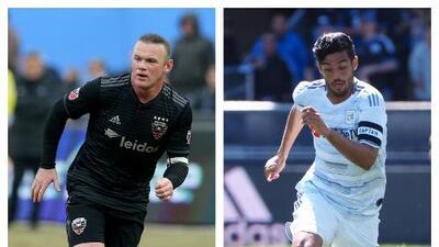 En negro y blanco: con el liderato en juego, Rooney y Vela chocan en la sexta semana de MLS
