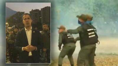 """Juan Guaidó en entrevista con Univision afirma que miles de militares """"se han sumado a la lucha por la democracia"""""""
