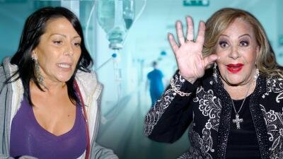 Alejandra Guzmán fue operada poco antes de que su madre, Silvia Pinal, entrara al hospital con neumonía