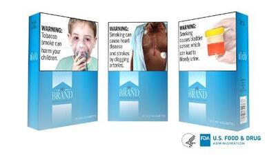 FDA impulsa nuevas imágenes explícitas de advertencia en cajetillas de cigarrillos