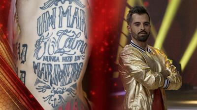 Uno a uno, Mike Bahía revela el significado de todos sus tatuajes