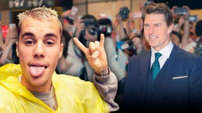 Nada tonto Justin Bieber: dice que estaba jugando cuando retó a pelear a Tom Cruise