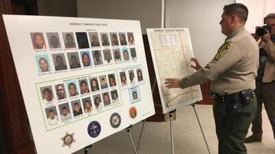 Arrestan a 38 presuntos pandilleros en el área conocida como el Corredor Vermont
