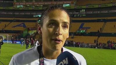 Diana González cree que el título retribuyó el trabajo de formación de Leanardo Cuéllar