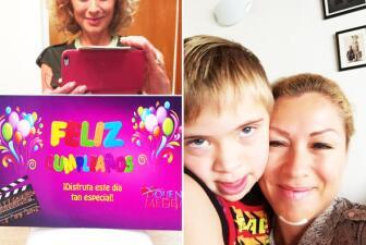 ¡Sigue muy sexy! Leticia Calderón festejó su cumpleaños entre grabaciones y tras el accidente que sufrió