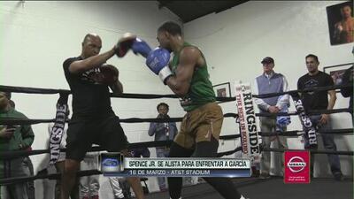 Spence Jr. muestra su preparación para su combate ante Mikey García