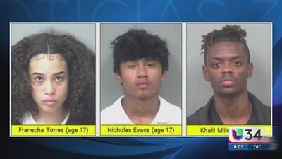Autoridades logran el arresto de tres sospechosos del asesinato de un joven hispano en Gwinnett