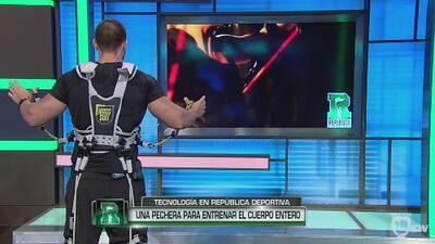 RD-Tech: Mass Suit, un traje diseñado para trabajar todos los músculos de tu cuerpo