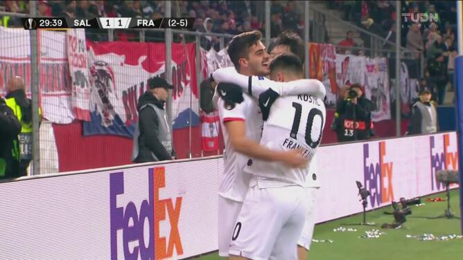 ¡Demuestran todo su talento! André Silva consigue el empate 1-1 ante el Salzburg