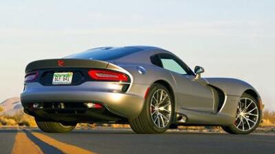 Dodge presentó el nuevo Viper 2015