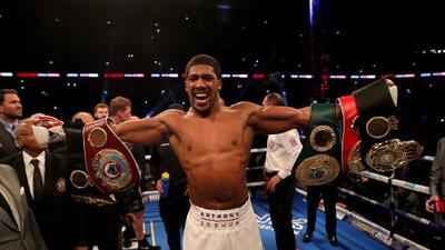 Anthony Joshua rompe récord en Nueva York para su pelea con Miller