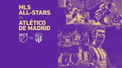 El Atlético de Madrid será rival de las figuras de Major League Soccer en el MLS All-Star Game