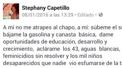 """""""A mí no me atrapes a 'El Chapo'"""", la respuesta viral a la captura del narcotraficante"""