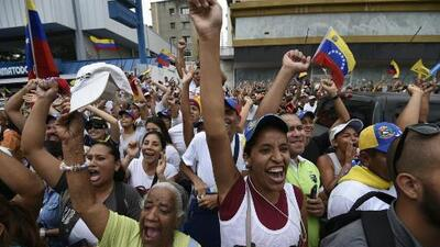 Venezuelan opposition floods Caracas in vast anti-Maduro protest