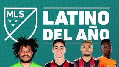 ¡Cuatro finalistas para el gran premio! Vota y elige al Latino del Año de la MLS en el 2017