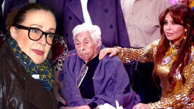 Laura Zapata dice que Thalía es la única de sus hermanas que está al pendiente de su abuela Eva Mange