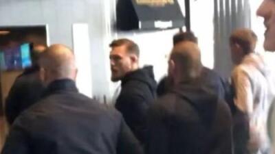 Conor McGregor ha sido puesto bajo custodia por la policía de Nueva York