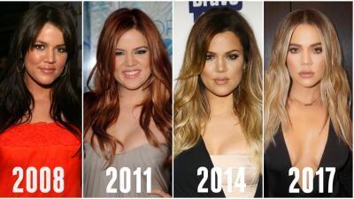 Casi sobrenatural: la impresionante transformación de Khloe Kardashian
