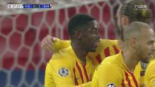 Goles con el que Barcelona supera al Ferencvaros en Champions League