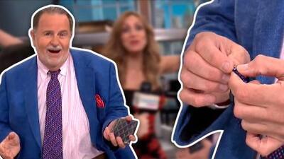 """Raúl de Molina tiene un amuleto para combatir el mal de ojo y confiesa """"que no le trabaja muy bien"""""""