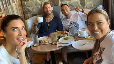 Sergio Ramos 'se encuentra' en su luna de miel con Keylor Navas